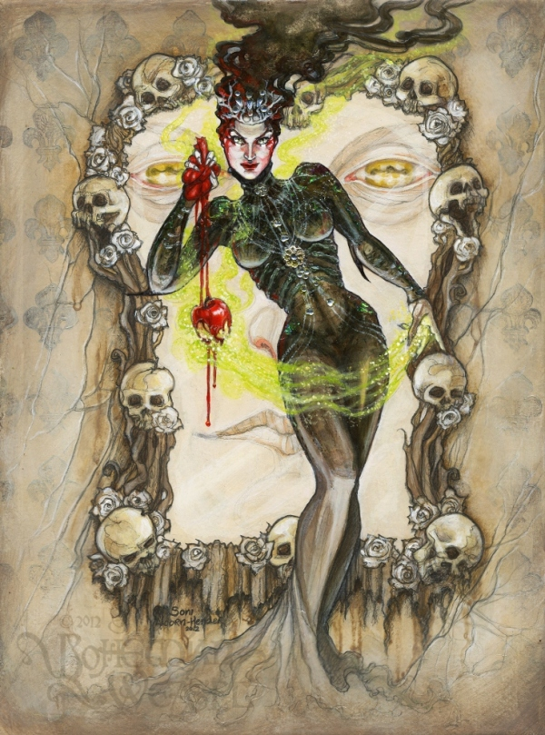 'Poisoned Apple' (Snow White) by Soni Alcorn-Hender