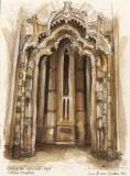 Batalha sepia painting, Soni Alcorn-Hender