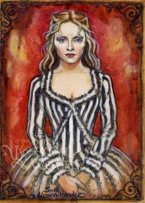 Katrina Van Tassel of Sleepy Hollow by Soni Alcorn-Hender