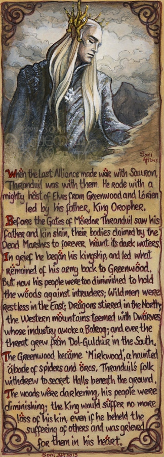 History of Thranduil by Soni Alcorn-Hender