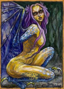 Harpy (Aello) by Soni Alcorn-Hender