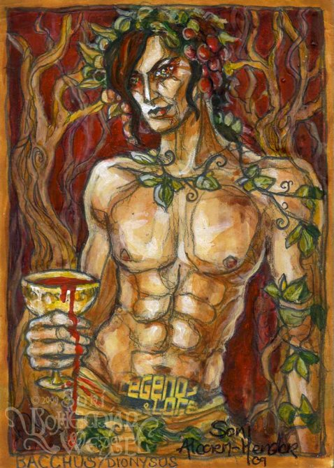 Dionysus/Bacchus by Soni Alcorn-Hender
