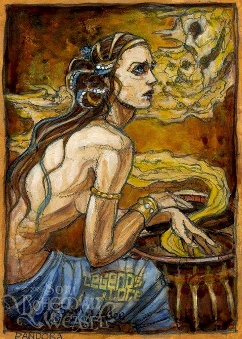 Pandora by Soni Alcorn-Hender