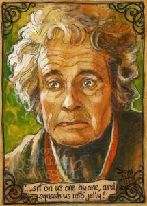 Bilbo's storytelling by Soni Alcorn-Hender