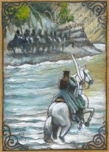 Nin o Chithaeglir, lasto beth daer by Soni Alcorn-Hender