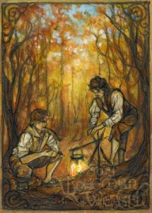 A Hobbit walking party by Soni Alcorn-Hender
