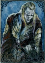 The fall of Haldir by Soni Alcorn-Hender