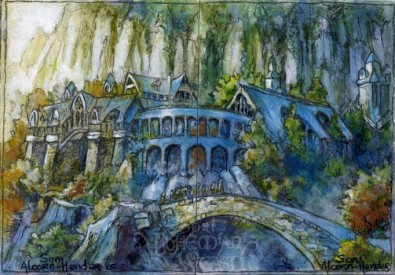 Leaving Rivendell by Soni Alcorn-Hender