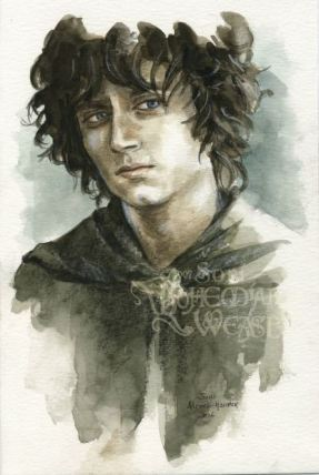 'You were not so very different from a Hobbit once, were you Sméagol.' by Soni Alcorn-Hender