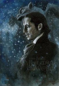 Snow and Gargoyles, Phantom of the Opera by Soni Alcorn-Hender