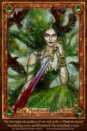 The Morrigan by Soni Alcorn-Hender