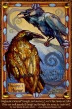 Huginn and Muninn by Soni Alcorn-Hender