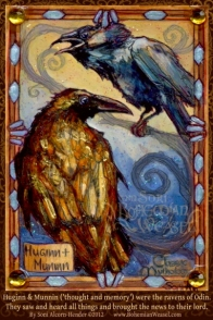 Huginn and Muninn by Soni Alcorn-Hender
