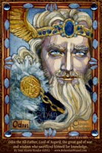 Odin, All-father by Soni Alcorn-Hender