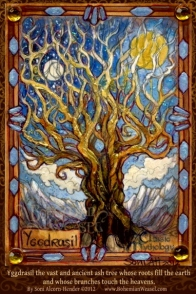 Yggdrasil, the World Tree by Soni Alcorn-Hender