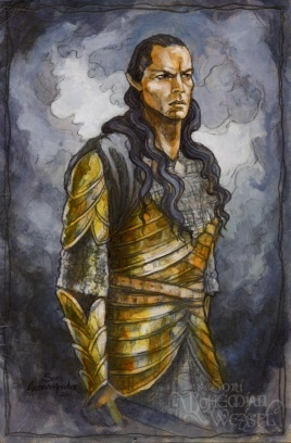 Second Age: Elrond by Soni Alcorn-Hender