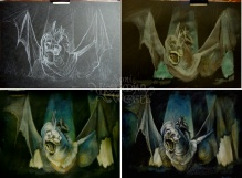 Witch-King of Angmar work in progress stages