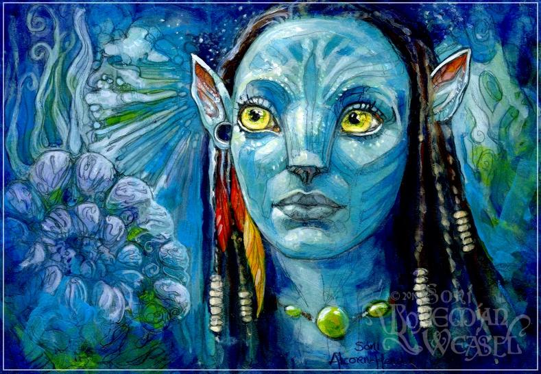 Neytiri by Soni Alcorn-Hender