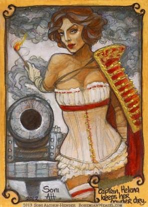 Captain Helena by Soni Alcorn-Hender