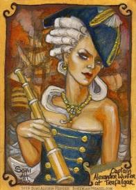 Captain Alexandra by Soni Alcorn-Hender