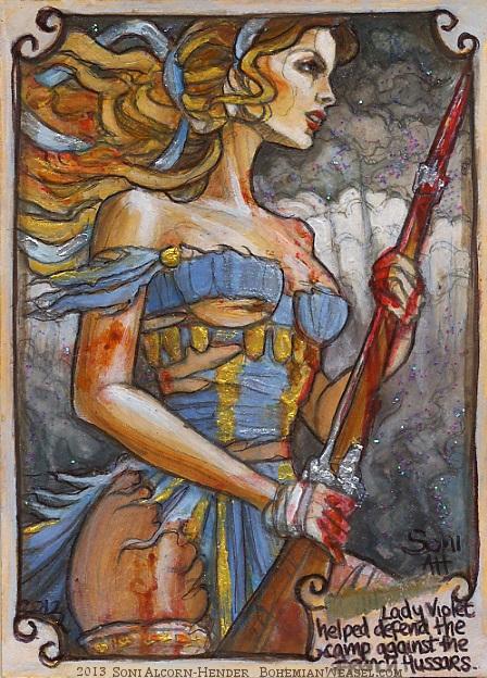 Lady Violet by Soni Alcorn-Hender