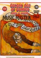 Breygent Golden Age of Comics sketch card by Soni Alcorn-Hender