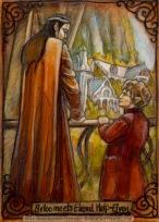 Meeting Elrond Half-Elven by Soni Alcorn-Hender