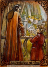 Meeting Elrond Half-Elven by Soni Alcorn-Hender