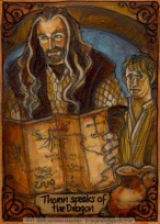 Thror's Map by Soni Alcorn-Hender