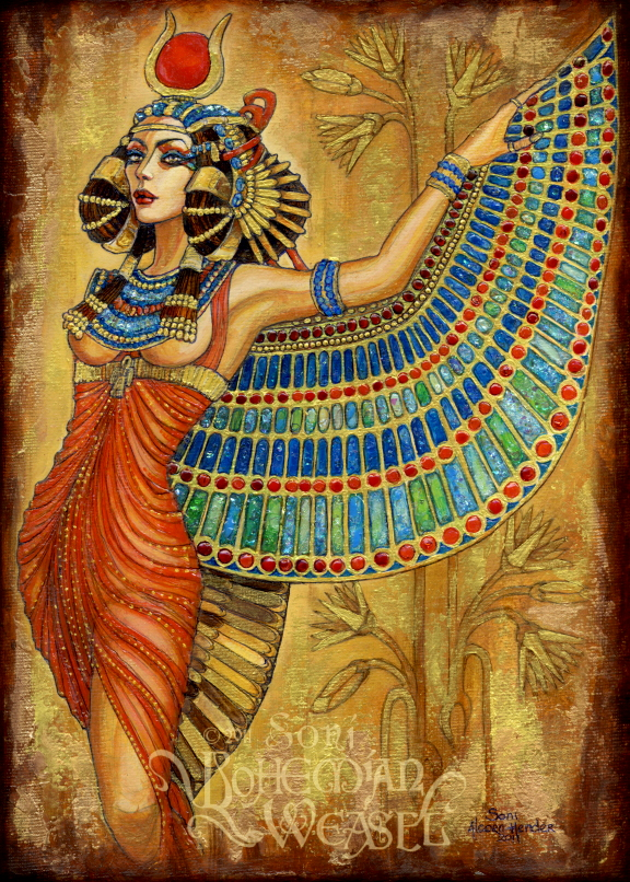 isis the egyptian goddess Isis goddess facts isis was the ancient egyptian goddess of love, healing, fertility, magic, and the moon isis was one of the egyptian gods of the ennead of heliopolis - the nine gods and goddesses that ruled ancient egypt.