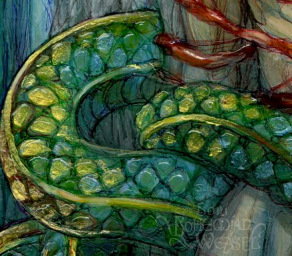 Loki (detail) by Soni Alcorn-Hender