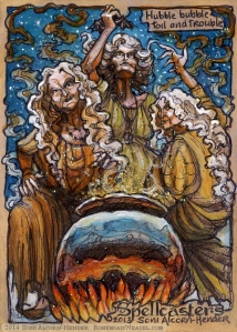 Macbeth's Witches by Soni Alcorn-Hender