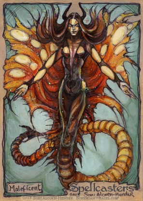 Maleficent by Soni Alcorn-Hender