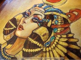 Isis work in progress by Soni Alcorn-Hender