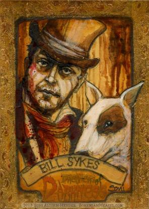 Bill Sykes & Bullseye by Soni Alcorn-Hender