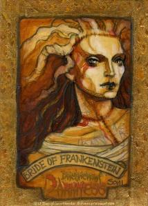 Bride of Frankenstein('s monster) by Soni Alcorn-Hender