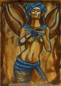Coffee Fairy by Soni Alcorn-Hender