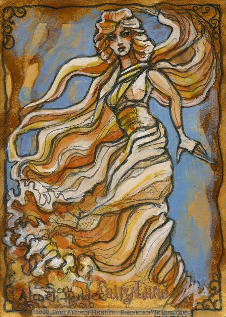 Cream Fairy by Soni Alcorn-Hender