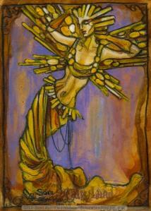Gold Fairy by Soni Alcorn-Hender