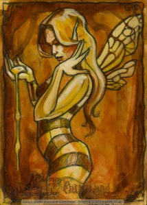 Honey Fairy by Soni Alcorn-Hender