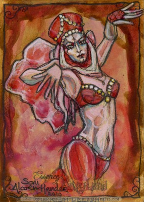 Turkish Delight Fairy by Soni Alcorn-Hender