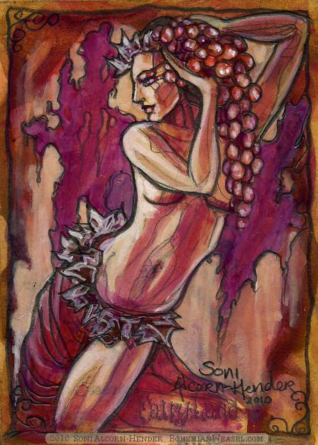 Wine Fairy by Soni Alcorn-Hender