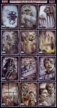 Topps Star Wars Galaxy 6 sketch cards by Soni Alcorn-Hender
