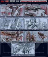 Topps Empire Strikes Back 3D sketch cards by Soni Alcorn-Hender