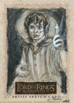 (Hail Eärendil brightest of the Stars!) Topps Lord of the Rings LotR Masterpieces 2 sketch card by Soni Alcorn-Hender