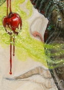 Poisoned Apple, by Soni Alcorn-Hender, detail