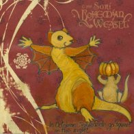 'In October, Squeasels go *squeee!* in the night.' by Soni Alcorn-Hender