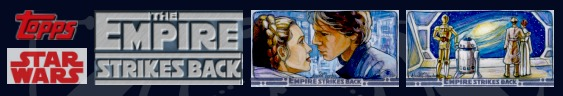 Topps Star Wars Empire Strikes Back 3D