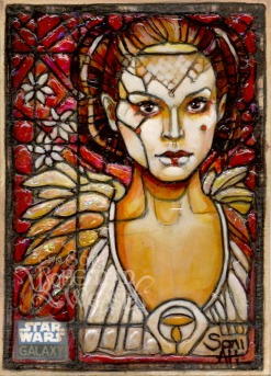 Topps Star Wars Galaxy 6 sketch card by Soni Alcorn-Hender
