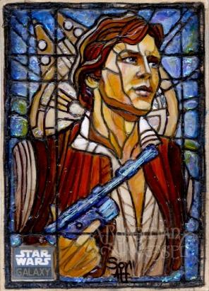 Topps Star Wars Galaxy 6 sketch card by Soni Alcorn-Hender